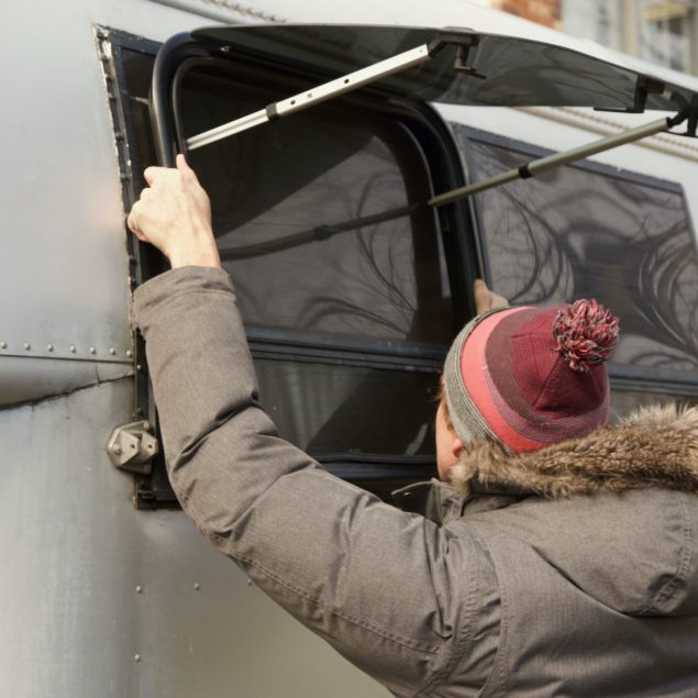 RV windows can always be a headache. But a DIY window replacement in a curved aluminum vintage truck camper poses special challenges. Check out these custom curved windows!