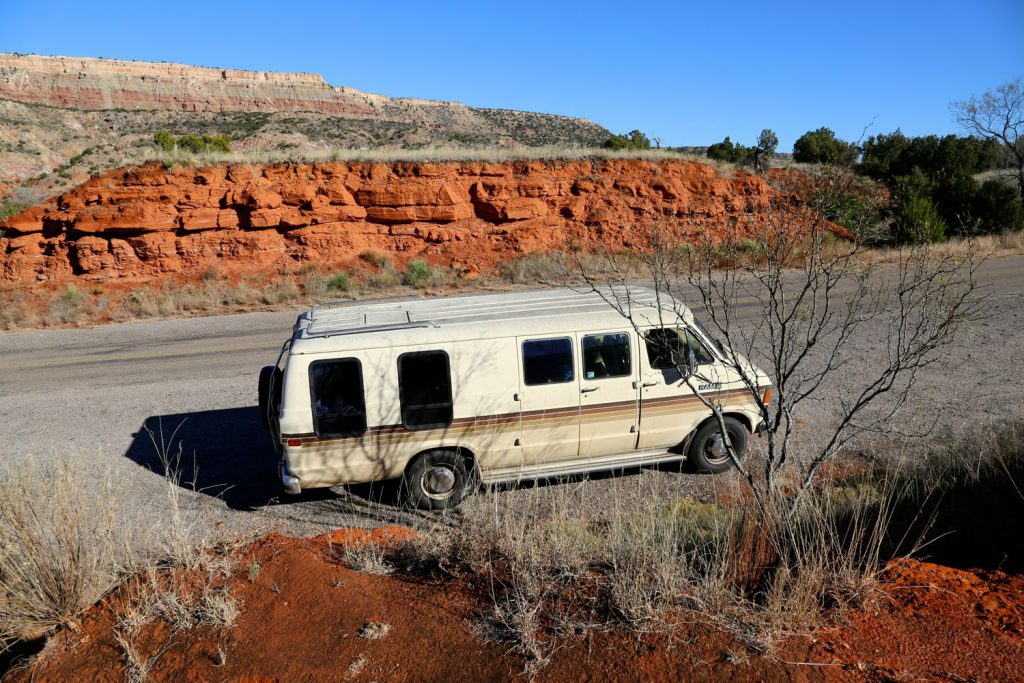 Dodgy in Palo Duro Canyon