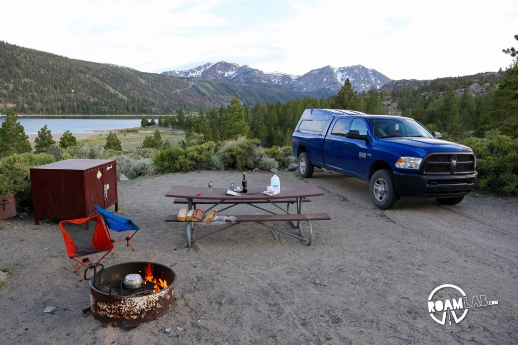 This may have been our best camping site yet!