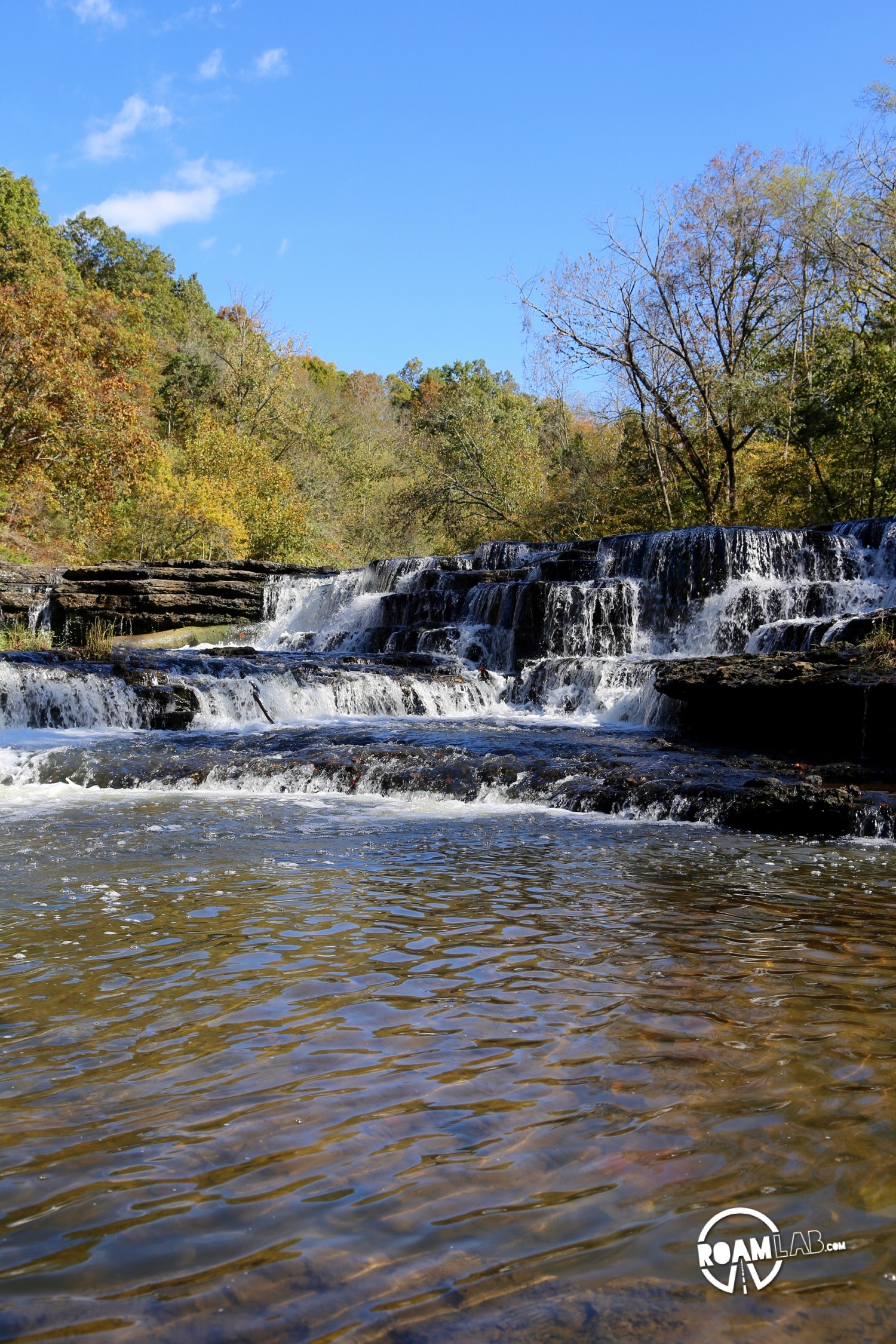 Burgess Falls State Park is everything you would expect of a park named after it's series of four, magnificent waterfalls. One trail will take you by each, successively more grand water feature, culminating at the base of the Burgess Falls.