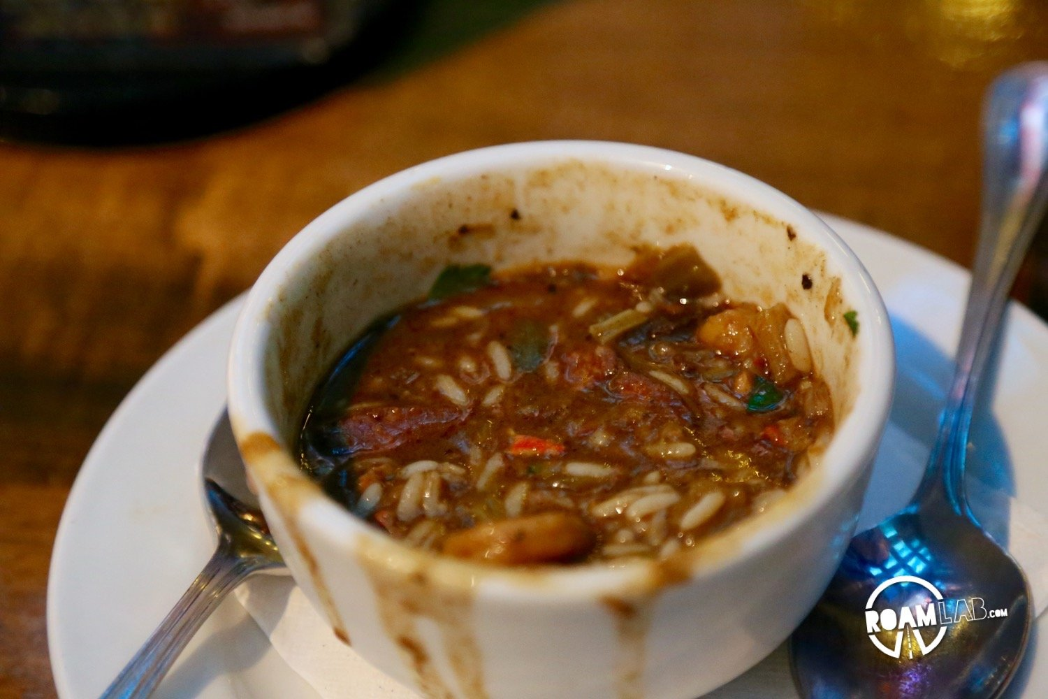 We didn't quite know what we were getting into when we ate that first bowl of gumbo. But then, the thought occurred to me...and I snapped a picture. Today, I regale you with the tail of our Great Gumbo Crawl.