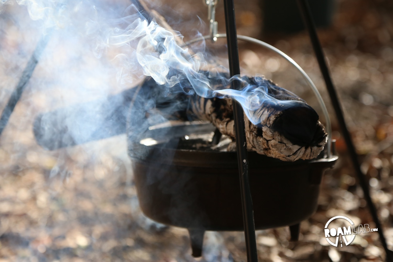 @roamlab's cover photo for 'Holiday Haul: Dutch Oven - Campfire Cooking | Roam Lab'