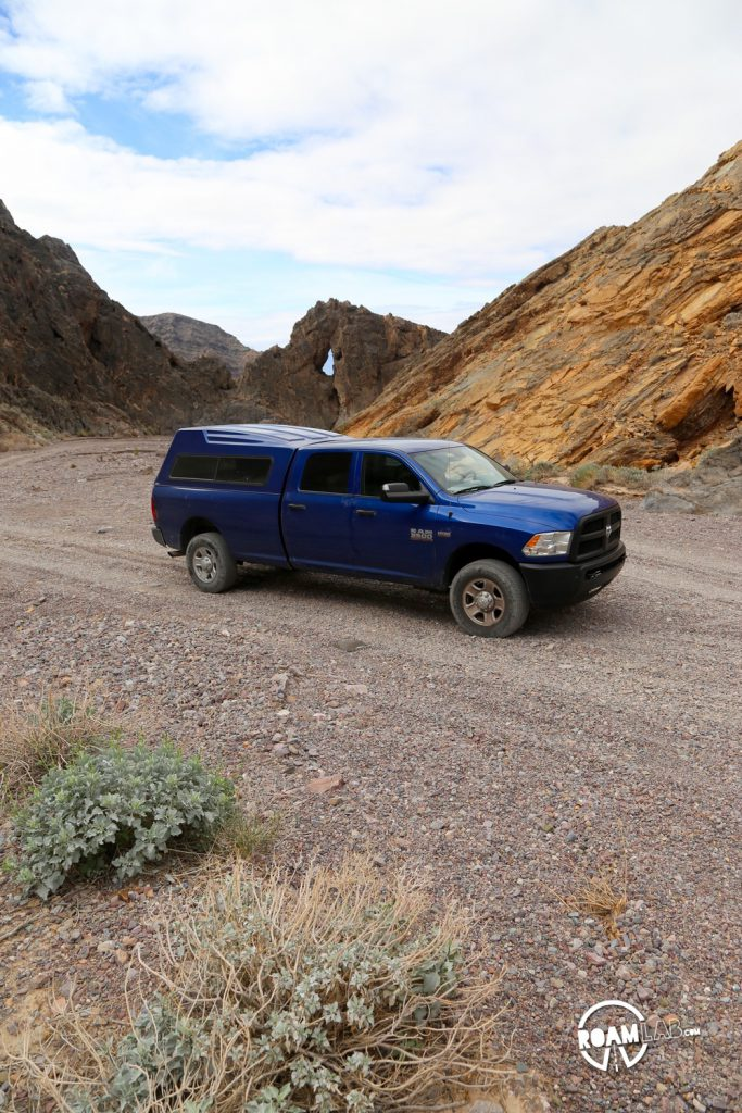Echo Canyon is remote in as much as it truly requires 4-wheel drive to travers the occasional patches of boulders.  There's no driving around them when squeezed by the tight canyon walls.  But that challenge makes for exquisitely exclusive experiences.
