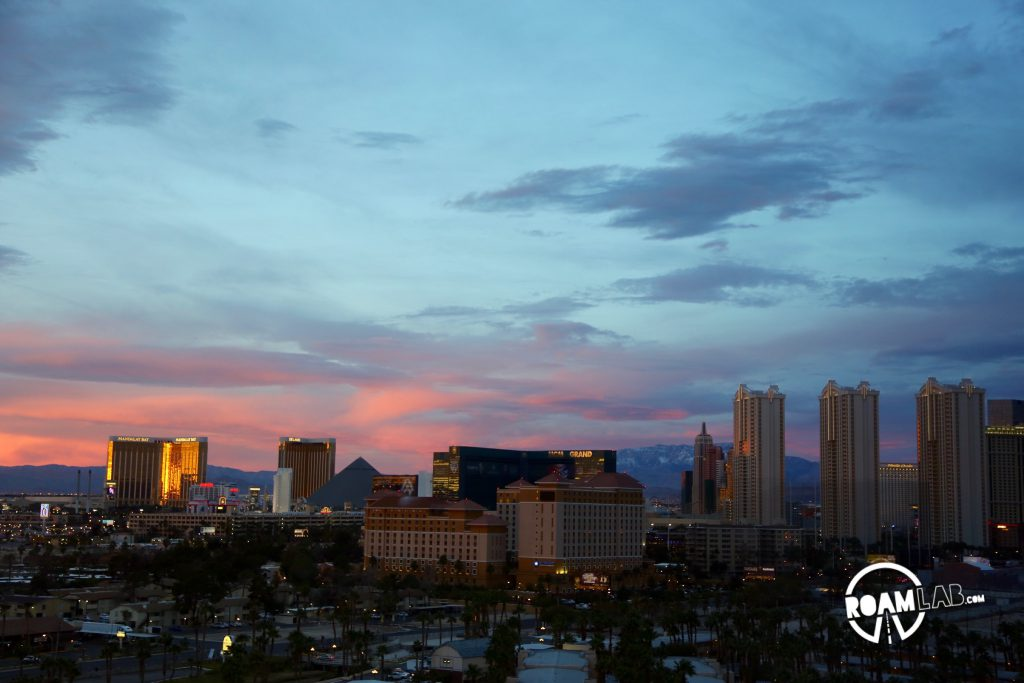 Las Vegas is an ideal destination for the digital nomad. Hotel rooms are cheap, the views are fantastic, and it's easy to get out and blow off some steam when you're having some trouble.