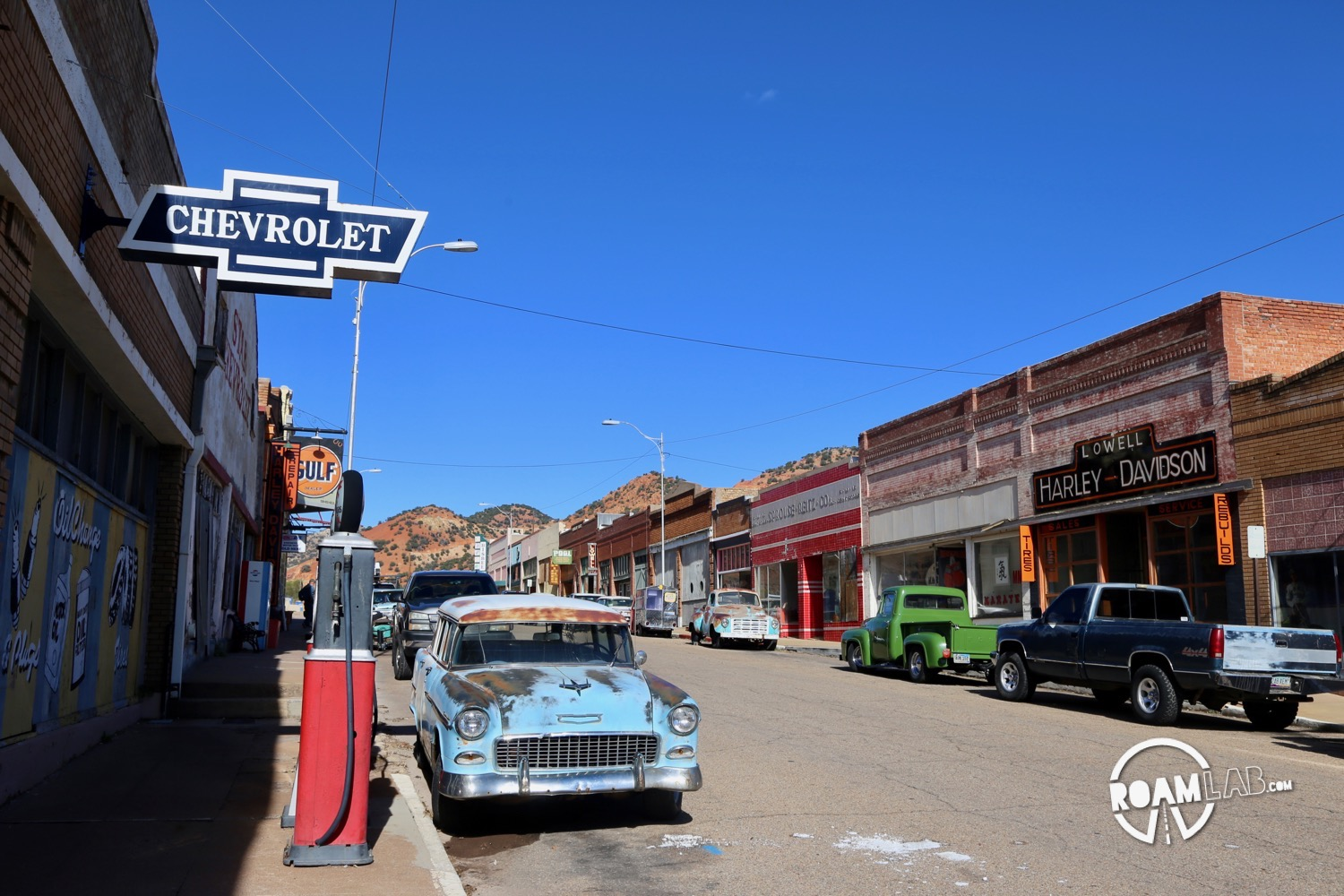 We visit the reimagined ghost town of Lowell, Arizona.
