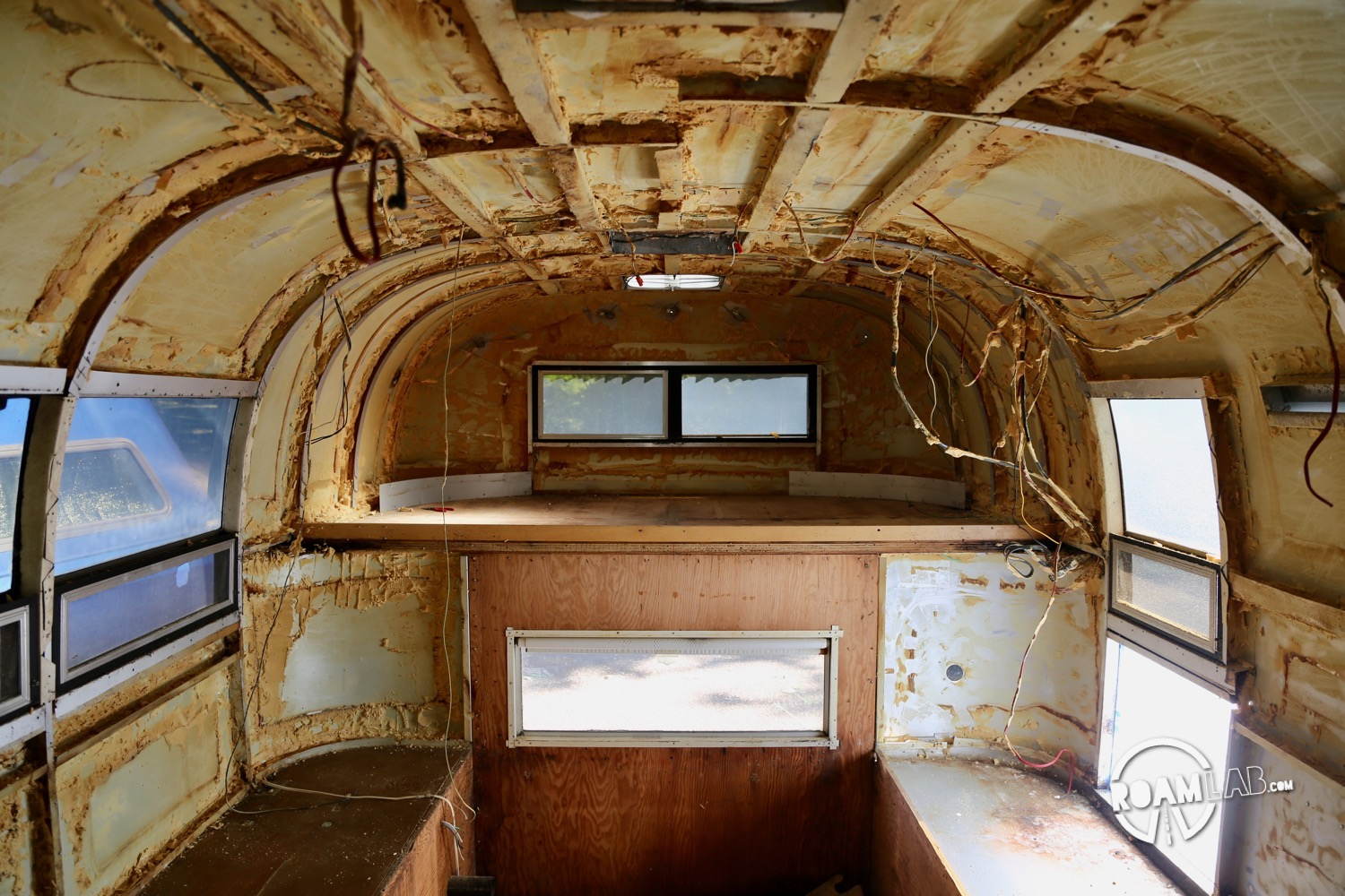 Stripping The Avion Ultra Truck Camper