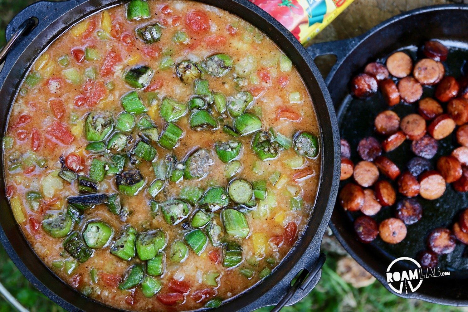There are so many ways to cook a gumbo. Some are regional. Some are familial. Mine is practical. After traveling through Louisiana and our Great Gumbo Excursion last year in New Orleans, it is time to make Roam Lab's Campfire Gumbo.