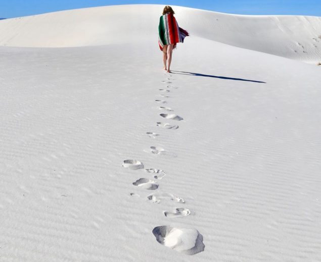 Wandering the wilderness of White Sands National Monument
