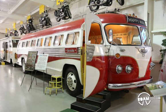 Visiting the Jack Sisemore Traveland RV Museum in Amarillo, Texas