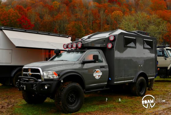 Global Expedition Vehicles rig at the Overland Expo East 2018