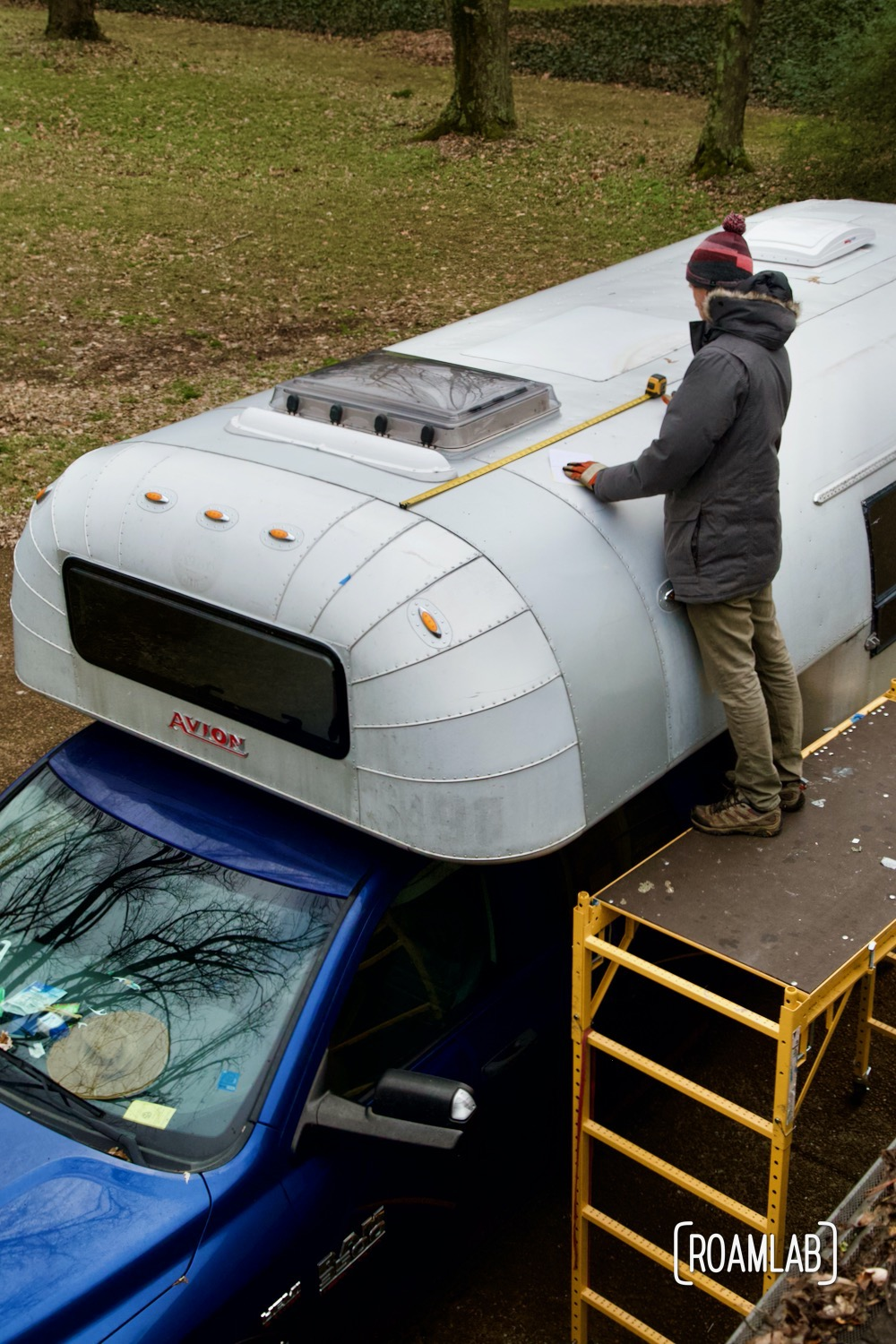 Calculating the solar capacity of an Avion C11 truck camper roof