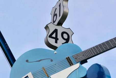 Crossroads of Clarksdale, Mississippi