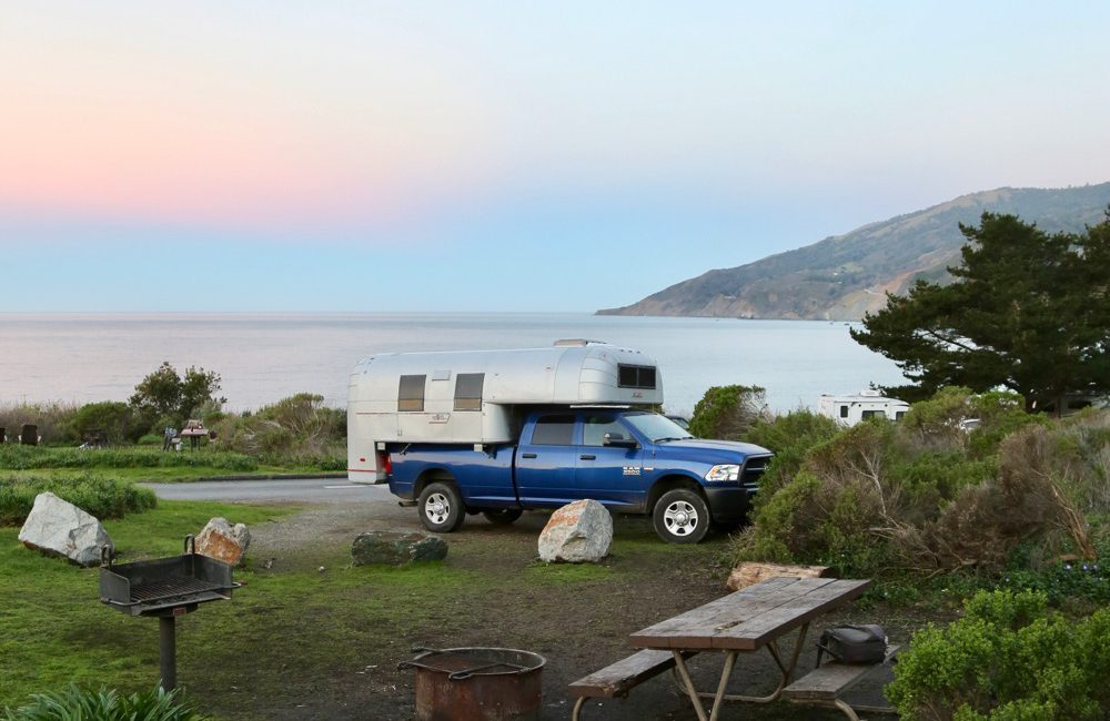 Kirk Creek Campground may lack hookups and running water and only offer pit toilets, yet the cliffside campsites with unobstructed ocean views are unique.