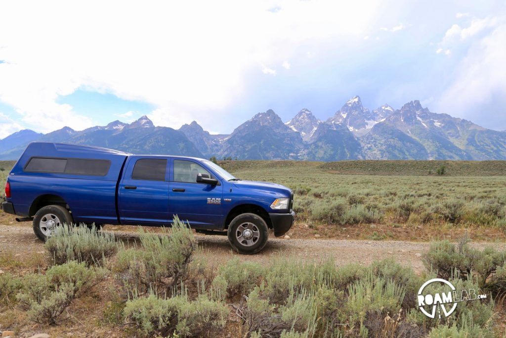 While much of the Grand Teton National Park is paved, there is a rare off-roading opportunity on the River Road. Join buffalo and elk along the Snake River.