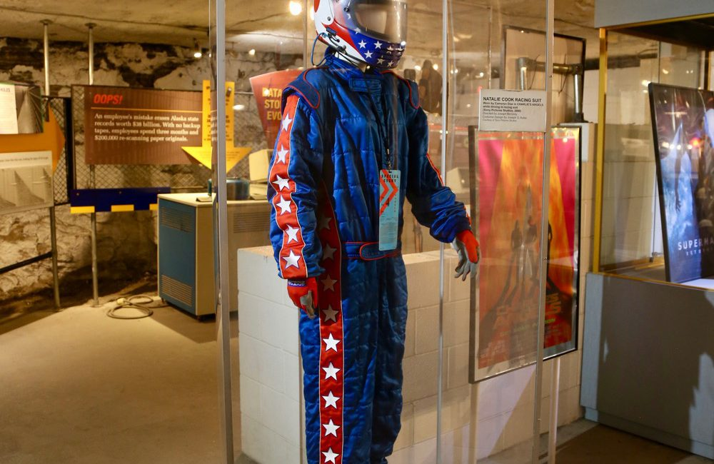 Racing suit worn by Cameron Diaz in Charlie's Angels (2000)