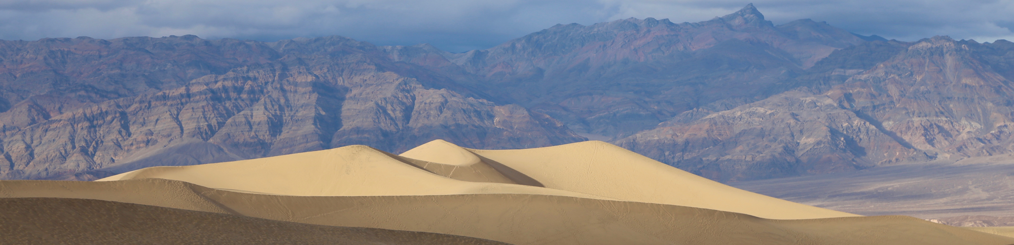 Death Valley National Park Sand Dunes Panorama