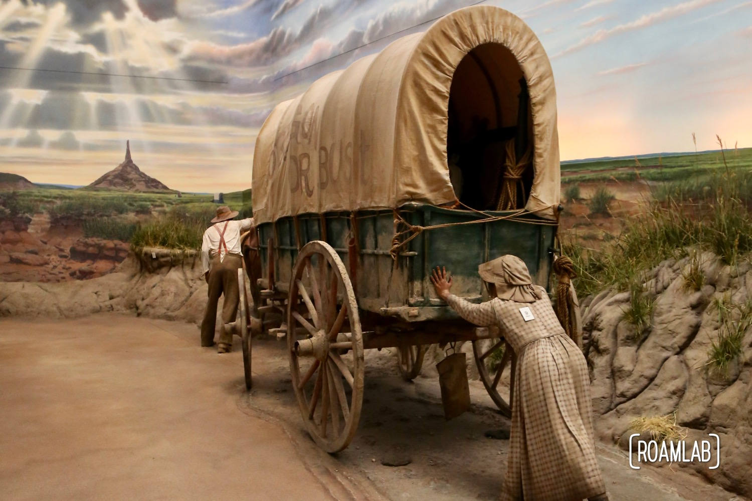 From wagon trains to road trips: discovering the history of the west at the Great Platte River Road Archway Monument in Kearney, Nebraska