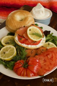 Savor a taste of New York City in this classic Bagel & Lox recipe with a campfire twist. Enjoy smoked salmon, cream cheese, capers, and schmear in one tasty bagel.