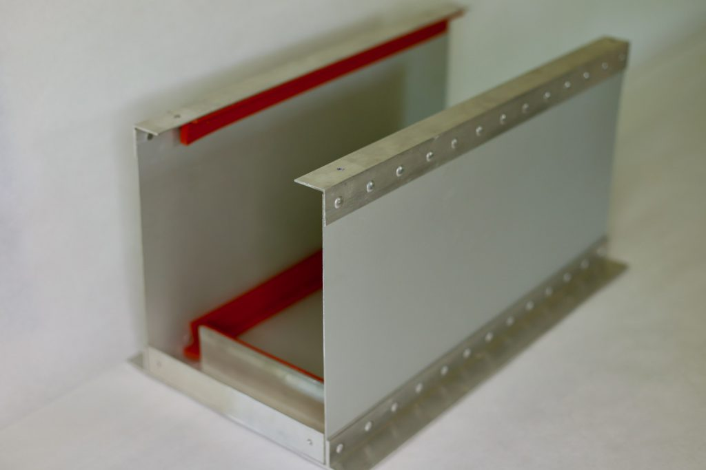 We make a custom battery box for our DIY lithium batteries featuring buck riveted aluminum, high impact rubber, and a plexiglass viewing window.