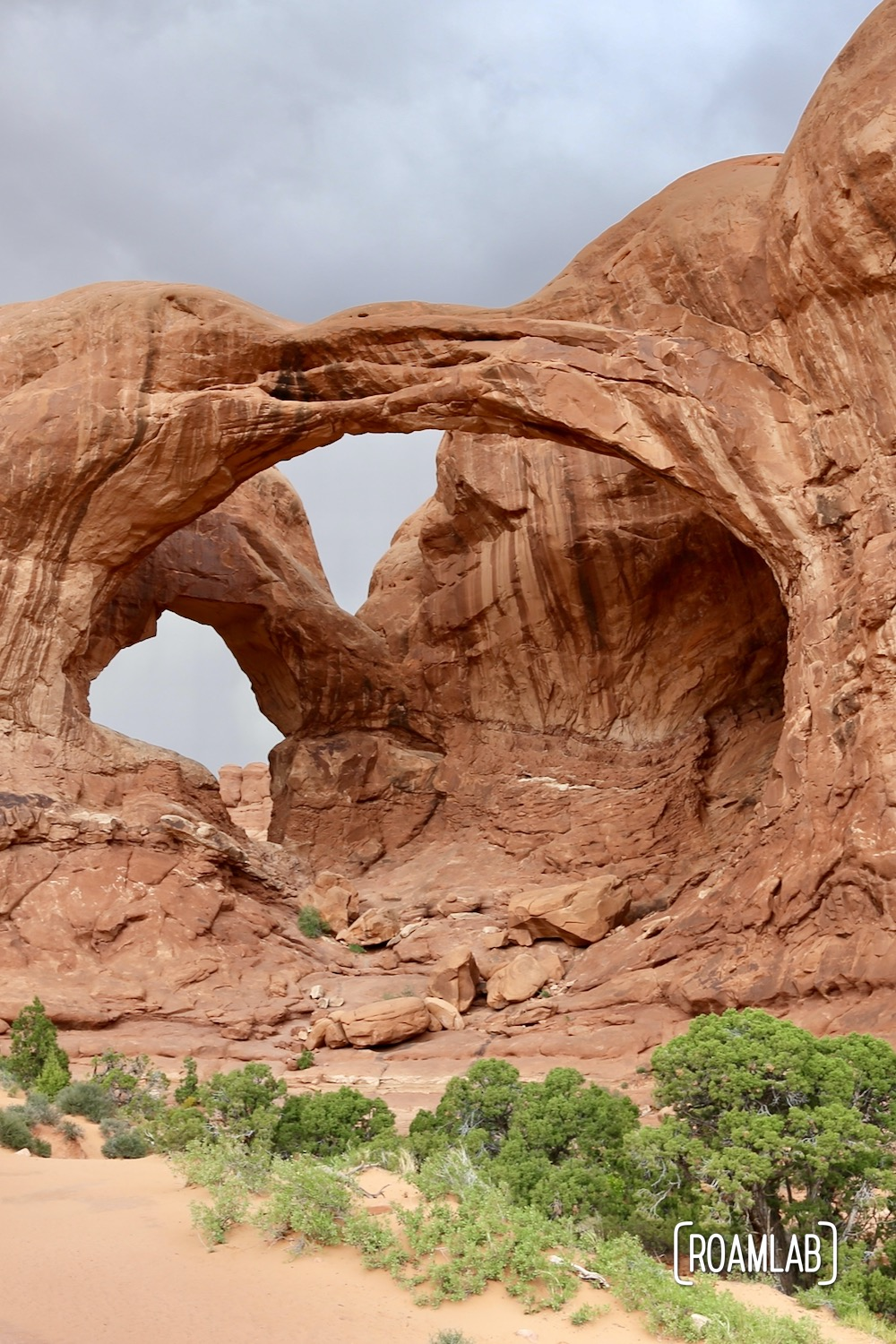 Double Arch - Arches National Park