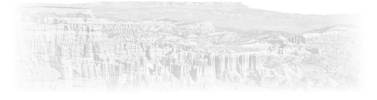 Bryce Canyon National Park Title Background