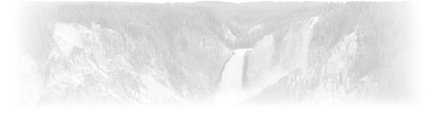Yellowstone National Park Title Background