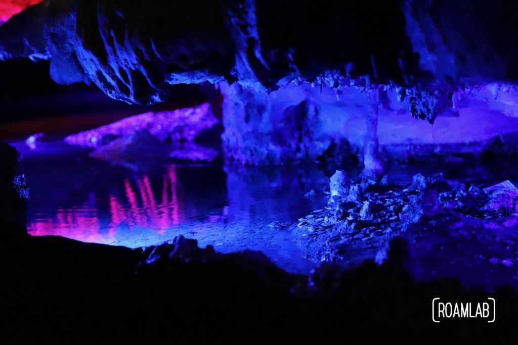 Discovered in 1928, Ruby Falls is the tallest and deepest falls in North America that are publicly accessible, just outside of Chattanooga.