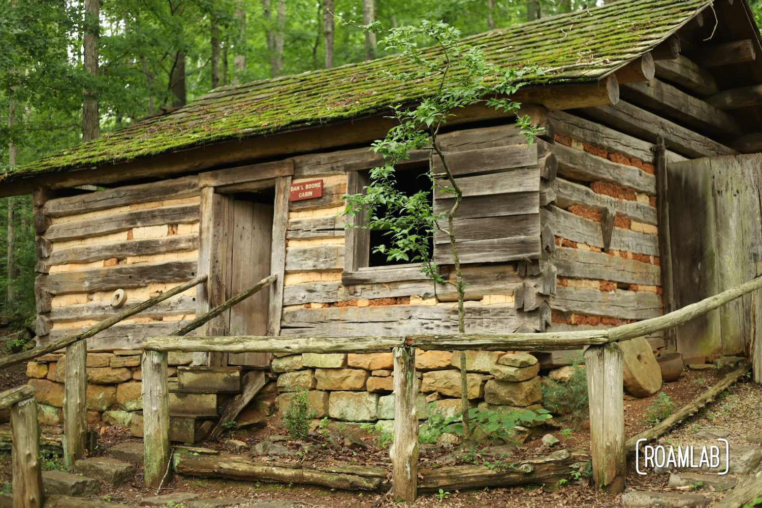 Wander historic homesteads, Daniel Boon's Cabin, and parade with peacocks at the Museum of Appalachia in Clinton, Tennessee