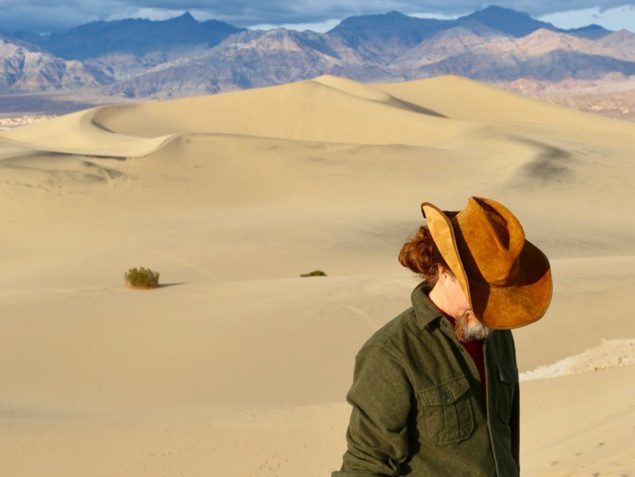 Wandering the Dunes of Death Valley National Park