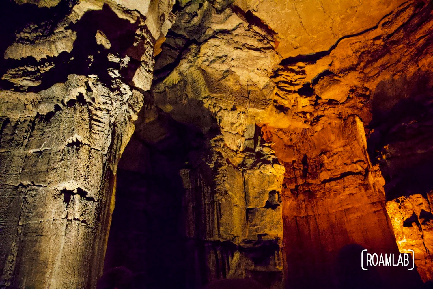 Ruins of Karnak along the Geology Tour in Mammoth Cave National Park.