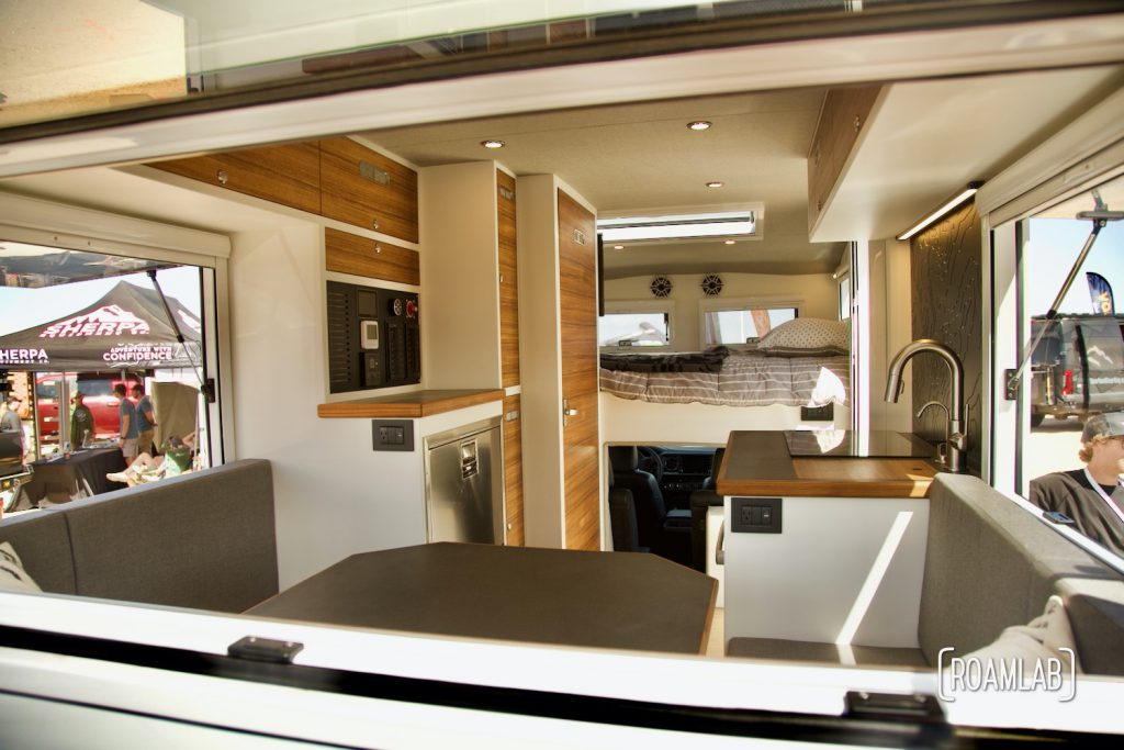 TruckHouse BCT Interior  on display at Overland Expo Mountain West.