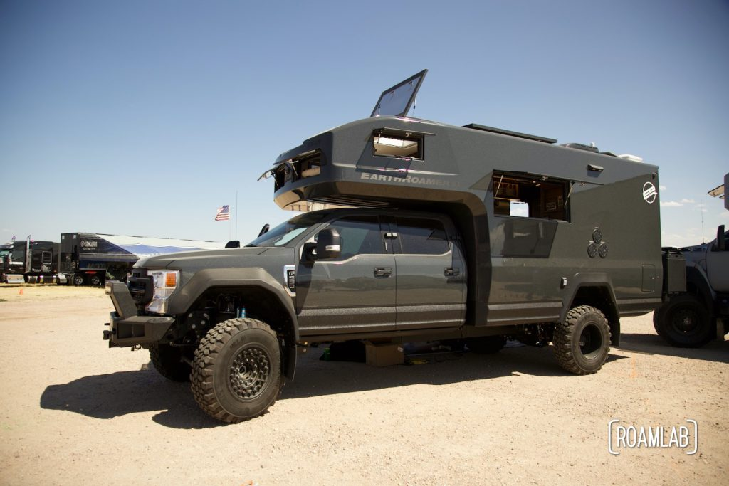 Black Earth Roamer  on display at Overland Expo Mountain West.